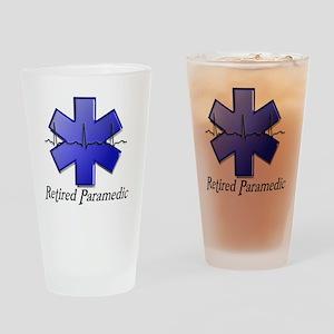 Retired Paramedic Drinking Glass