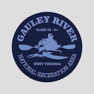 "Gauley River (kayak) 3.5"" Button"