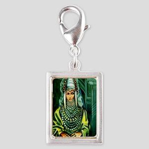 yemen1 Silver Portrait Charm
