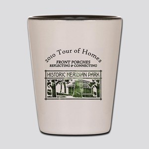 HMP home tour logo green Shot Glass