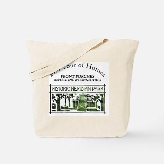 HMP home tour logo green Tote Bag