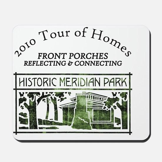 HMP home tour logo green Mousepad