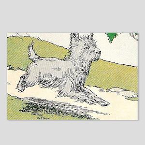 scottie Postcards (Package of 8)