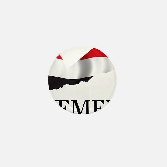 MapOfYemen1 Mini Button