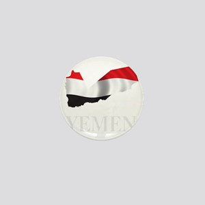 MapOfYemen1Bk Mini Button