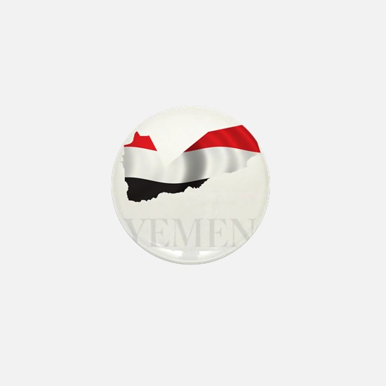 MapOfYemen1Bk Mini Button