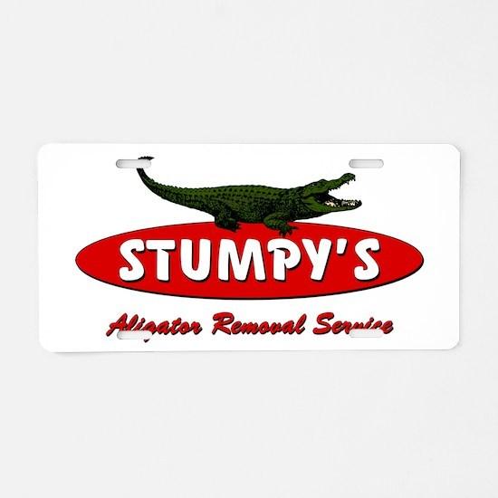 STUMPYSpp Aluminum License Plate