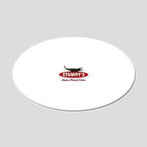STUMPYSpp 20x12 Oval Wall Decal