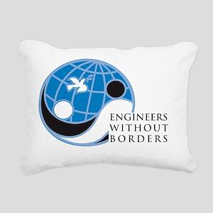 EWB-logo Rectangular Canvas Pillow