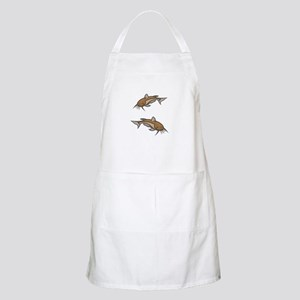 Catfish White To Fish or Not to Fish Apron