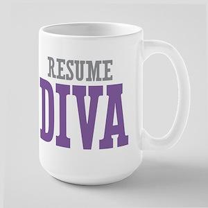 Resume DIVA Large Mug