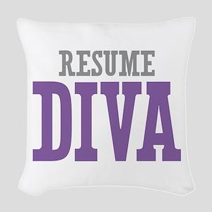 Resume DIVA Woven Throw Pillow