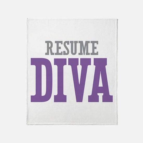 Resume DIVA Throw Blanket