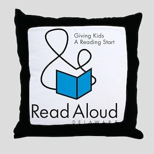 RAD_Logo_10x10 Throw Pillow