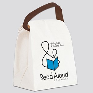 RAD_Logo_10x10 Canvas Lunch Bag
