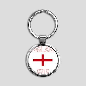 England world cup flag Round Keychain