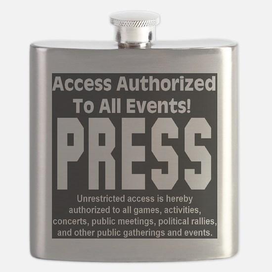 press_black Flask