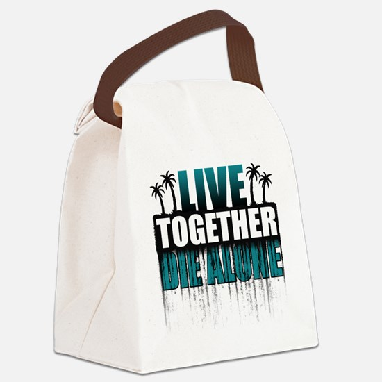 live-together-island-tl-hl- Canvas Lunch Bag