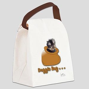 Brussels Griffon Brown Doggie Bag Canvas Lunch Bag