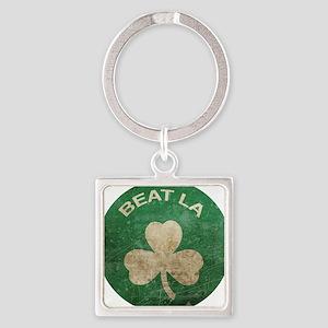 BeatLA1 Square Keychain