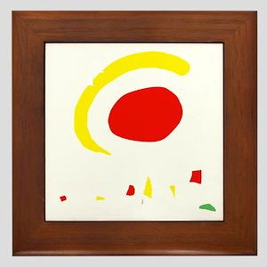 espana(blk) Framed Tile