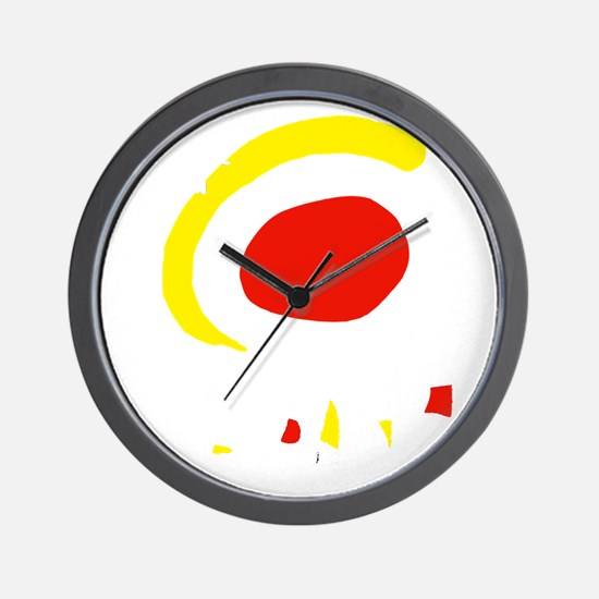 espana(blk) Wall Clock