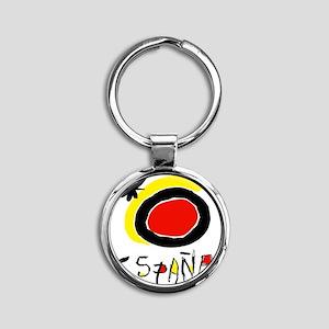 espana Round Keychain