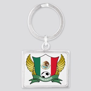 mexico-soccer Landscape Keychain