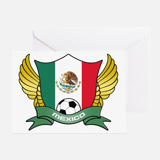 mexico-soccer Greeting Card