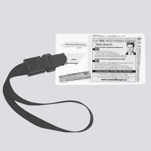 05 May 18 Scanned GM Crush Ad 00 Large Luggage Tag