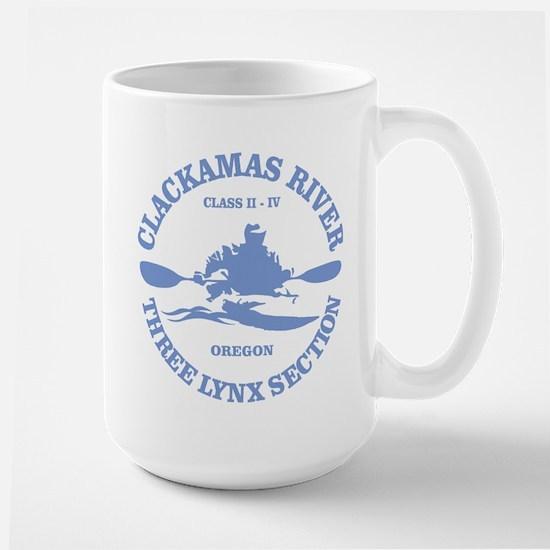 Clackamas River (kayak) Mugs