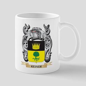 Keizman Coat of Arms - Family Crest Mugs