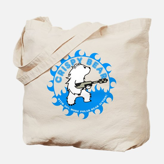 crispy_bear_blue Tote Bag