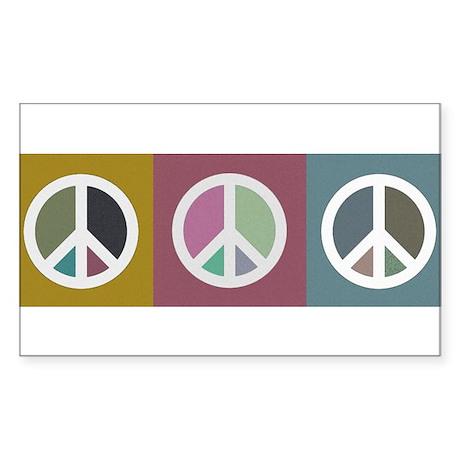 PEACEBUMPER3 Sticker