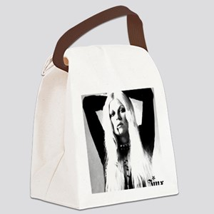 000 tee shirt MASTER JD BW Arms U Canvas Lunch Bag