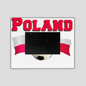 Polish Soccer Shirt Picture Frame