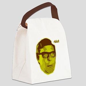 Ribbit Canvas Lunch Bag
