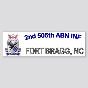 2nd Bn 505th ABN Cap1 Sticker (Bumper)