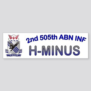 2nd Bn 505th ABN Cap3 Sticker (Bumper)