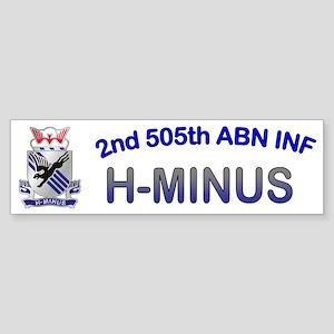 2nd Bn 505th ABN Cap3 Sticker (Bumper)