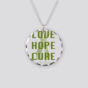 2-1 ptsd-001 Necklace Circle Charm