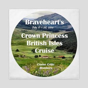 July 17-29, 2010 British Island cruise Queen Duvet