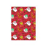 Santa, Reindeer, Cookies 5'x7'Area Rug