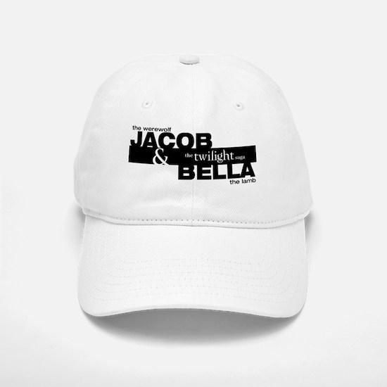 Jacob and Bella (werewolf and lamb) Baseball Baseball Cap