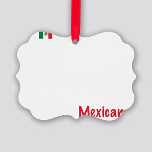 02_Mexican_10x10_wc Picture Ornament