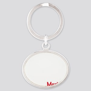 02_Mexican_10x10_wc Oval Keychain