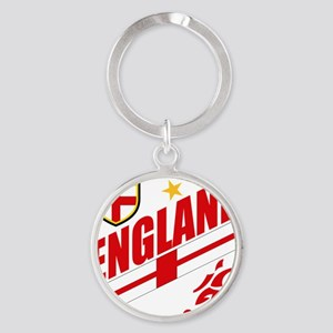 england aaa Round Keychain
