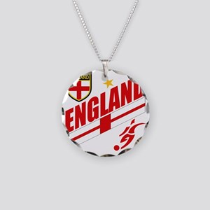 england aaa Necklace Circle Charm