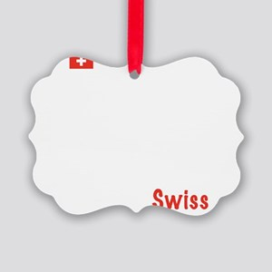 04_Swiss_10x10_wc Picture Ornament