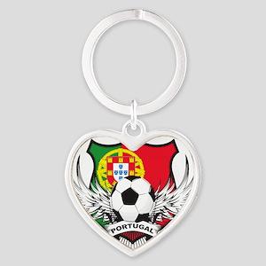 portugal Heart Keychain